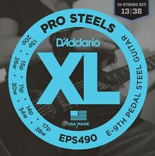 D'Addario EPS490 Pedal Steel Strings, E-9th