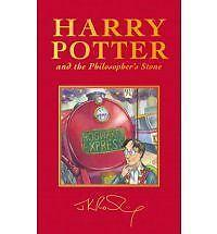 Harry Potter and the Philosopher's Stone, Deluxe British Edition J.K. Rowling Bo