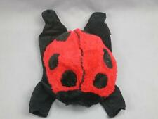 ANNE GEDDES LADYBUG LARGE COSTUME OUTFIT RED BLACK POLKADOT PLUSH STUFFED SOFT