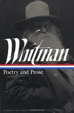Whitman: Poetry and Prose (Library of America) by Whitman, Walt