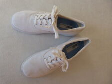 Keds Vintage Womens Relaxed Fit White Walking Tennis Sneakers Shoes 7