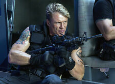 PHOTO DOLPH LUNDGREN - EXPENDABLES 3 (P1) FORMAT 20X27 CM