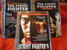 Street Fighter, Street Fighters & Return Street Fighter (DVD, 2001) Sonny Chiba