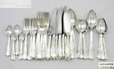 BEAUTIFUL 68PC CANTEEN VINTAGE GRENADIER SILVER PLATED EPNS A1 FLATWARE CUTLERY