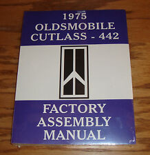1975 Oldsmobile Cutlass 442 Factory Assembly Manual 75