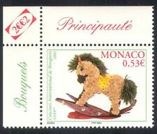 Monaco 2002 Flower Show/Flowers/Plants/Nature/Rocking Horse/Toys 1v (n38649)