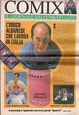 riviste fumetti- COMIX IL GIORNALE DEI FUMETTI Anno 1993 Numero 63