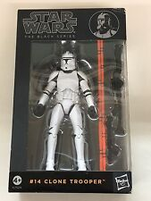 "Star Wars THE BLACK SERIES #14 6"" Clone Trooper Action Figure HASBRO A7529"
