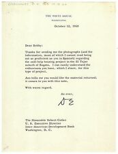 Dwight D. Eisenhower - Typed Letter Signed - re/ Kennedy's Alliance for Progress