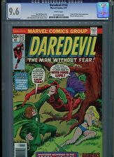 Daredevil #142 CGC 9.6 (1977) Cobra Mister Hyde Nova Bullseye White Pages