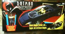 BATMAN BRUCE WAYNE STREET JET,  ANIMATED SERIES, NM Euro Box, Sealed, Kenner