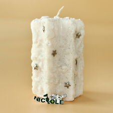 LZ0139 Nicole Handmade Custom DIY Silicone Rubber Soap Candle Molds Resin,Clay