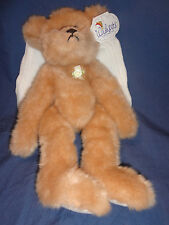 "Wishpets Angelica the Angel Bear 1999 Plush 14"" with Tags"