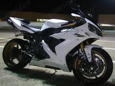 Plastic Fit for YAMAHA 2004-2006 YZF R1 Glossy White Injection Fairings Set h10