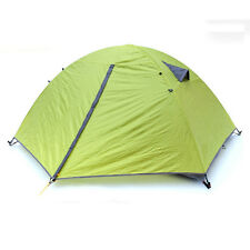 Windproof Waterproof Double Layer 2 Person Tent Climbing Camping Hiking 3 Season