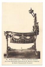 paris  musée carnavalet  berceau du prince impérial par victor baltard