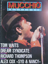 MUCCHIO 108 1987 Tom Waits Richard Thompson Dream Syndicate Boohoos Pogues