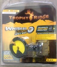 NEW TROPHY RIDGE KILL SHOT WHISKER BISCUIT REST Yellow Kill SHOT