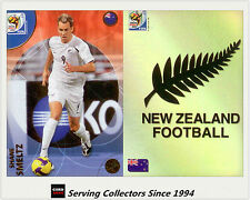 2010 Panini South Africa World Cup Soccer Cards Team Set New Zealand (2)