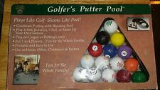 GOLFER'S PUTTER POOL Billiards Game Set -  in excellent condition complete
