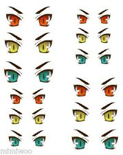 Obitsu 27cm Body 1/6 Dollfie Doll head Eye Decal Sticker 30 (12 pairs) ** NEW **