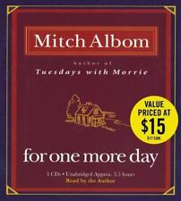 For One More Day by Mitch Albom (2006, CD, Unabridged)