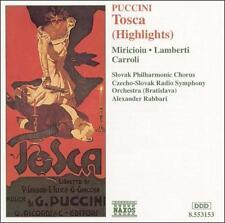 Puccini - Tosca / Miricioiu · Lamberti · Carroli · Rahbari [Highlights], New Mus