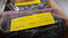 2N5401 1000 pcs  PNP TRANSISTORS  COMPLEMENTARY to 2N5551  Low Noise HV Amp