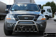 KIA SORENTO STAINLESS STEEL CHROME NUDGE A-BAR BULL BAR 2002-2009