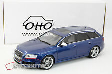 OTTO 1:18 scale Audi RS6 C6 Avant 2008(Blue Met.) *LE 1500pcs* OT122 ***IN STOCK