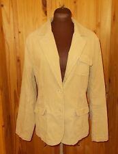 MAINE Debenhams golden sand beige corduroy blazer jacket winter coat 14 42