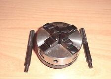 Vierbackenfutter zentrisch neu f. EMCO Unimat 3 + 4