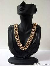 STATEMENT CELEBRITY STYLE COCO CHUNKY GOLD COLLAR CHAIN NECKLACE