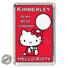 Hello Kitty Personalised Fridge Magnet PGS1740FM- FREE UK POSTAGE