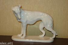 """-Schwarzburger Werkstätten Porzellan Figur """"Jagdhund"""" Hund"""