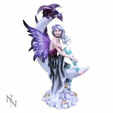 Moonique Moon Fairy & Dragon Figurine By Nemesis Now C2643G6