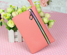 New 2015 Cheap Lady Zipper Handbag Purse Women Card Coin Clutch Bag Stock