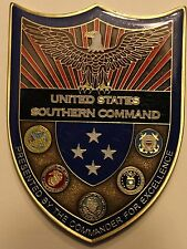 United States Southern Command 4-Star Commander's Joint Challenge Coin