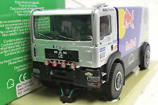 AVANT 50409 MAN RED BULL DAKAR 4 WHEEL DRIVE TRUCK NEW 1/32 SLOT CAR