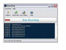 SoundTap Stream Recorder Standard Edition , Record any audio played on your PC