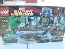 Lego Set 6868 Hulk's Helicarrier Breakout Super Heroes Incredible Hulk Avengers