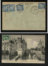 France  post  card  postage  due    1922           MS1117