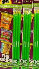 """New 11"""" The Gripstic Seal Tight Food Snack Bags Gripstic~Lot of 9 Gripstics"""