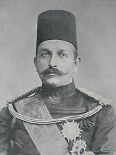 Abbas Hilmi Khedive Of Egypt 48 Grosvenor Square 1903 Photo Article 8402