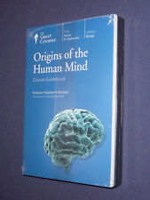 Teaching Co Great Courses DVDs      ORIGINS of the HUMAN MIND     newest version