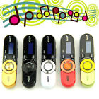 USB LCD Screen16GB Support Flash TF MP3 Music Player FM Radio +Earphone