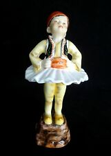 "ROYAL WORCESTER ""GREECE"" F. DOUGHTY CHILDREN OF THE WORLD COLL. FIGURINE #3069"