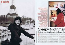 COUPURE DE PRESSE CLIPPING 1998 SLEEPY NIGTHMARE  (4 pages)