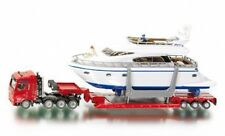 Siku Super 1849 1:87 Heavy Haulage Transporter with Drettmann Yacht Model