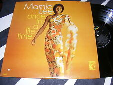 Scarce Jazz Female Vocal LP MAMIE LEE Once In A Lifetime MGM Mid 60s Original